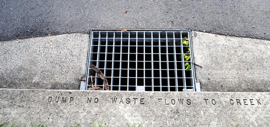Brisbane sewer grate