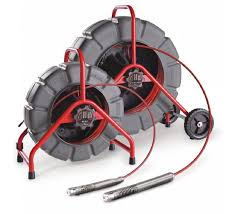 The 2 types of Ridgid seesnake cameras we use for CCTV drain inspections